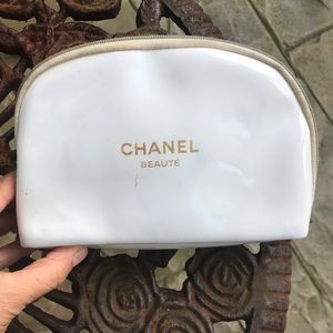 Auth Chanel Cosmetic Bag